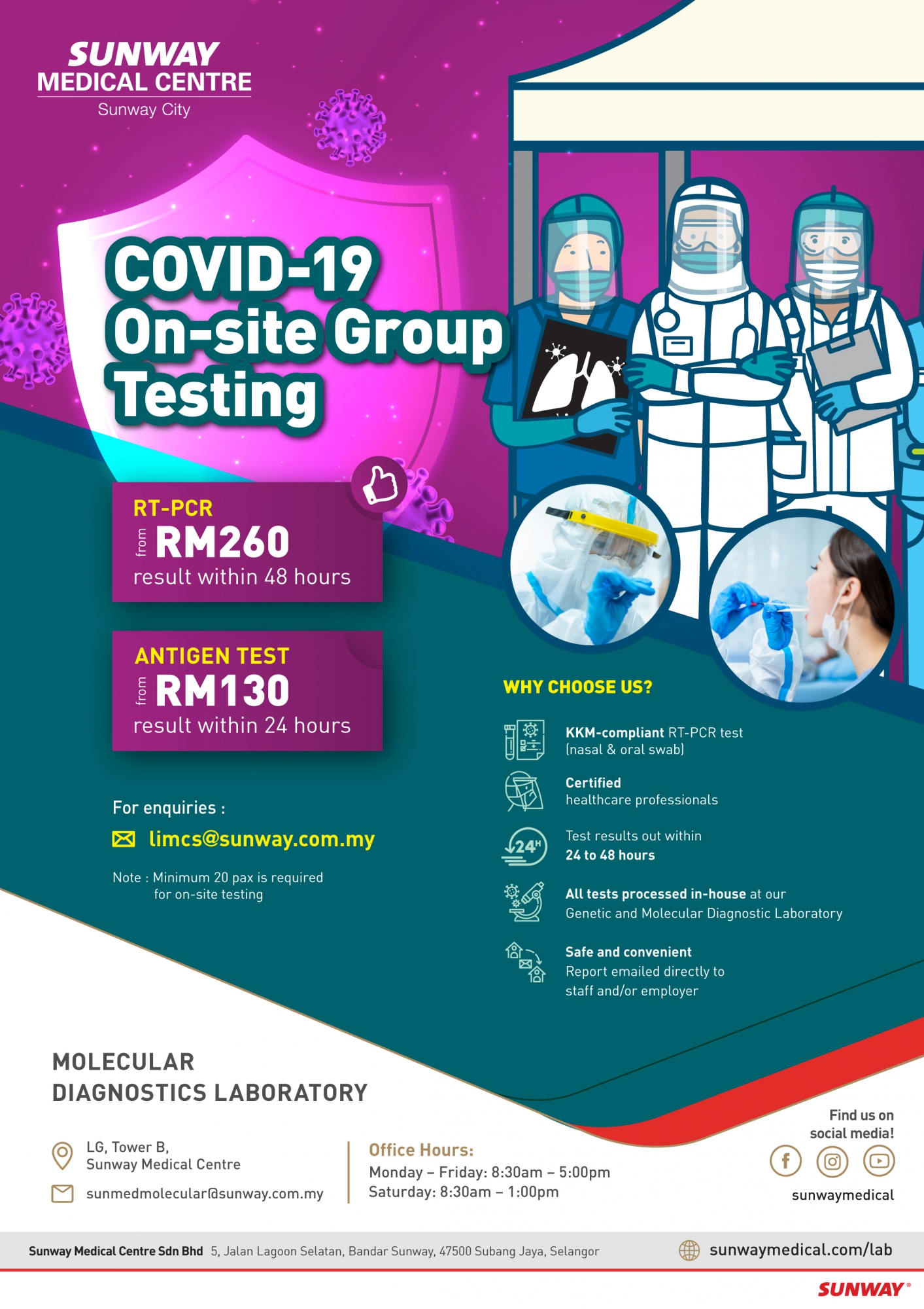 Covid-19 On-Site Test